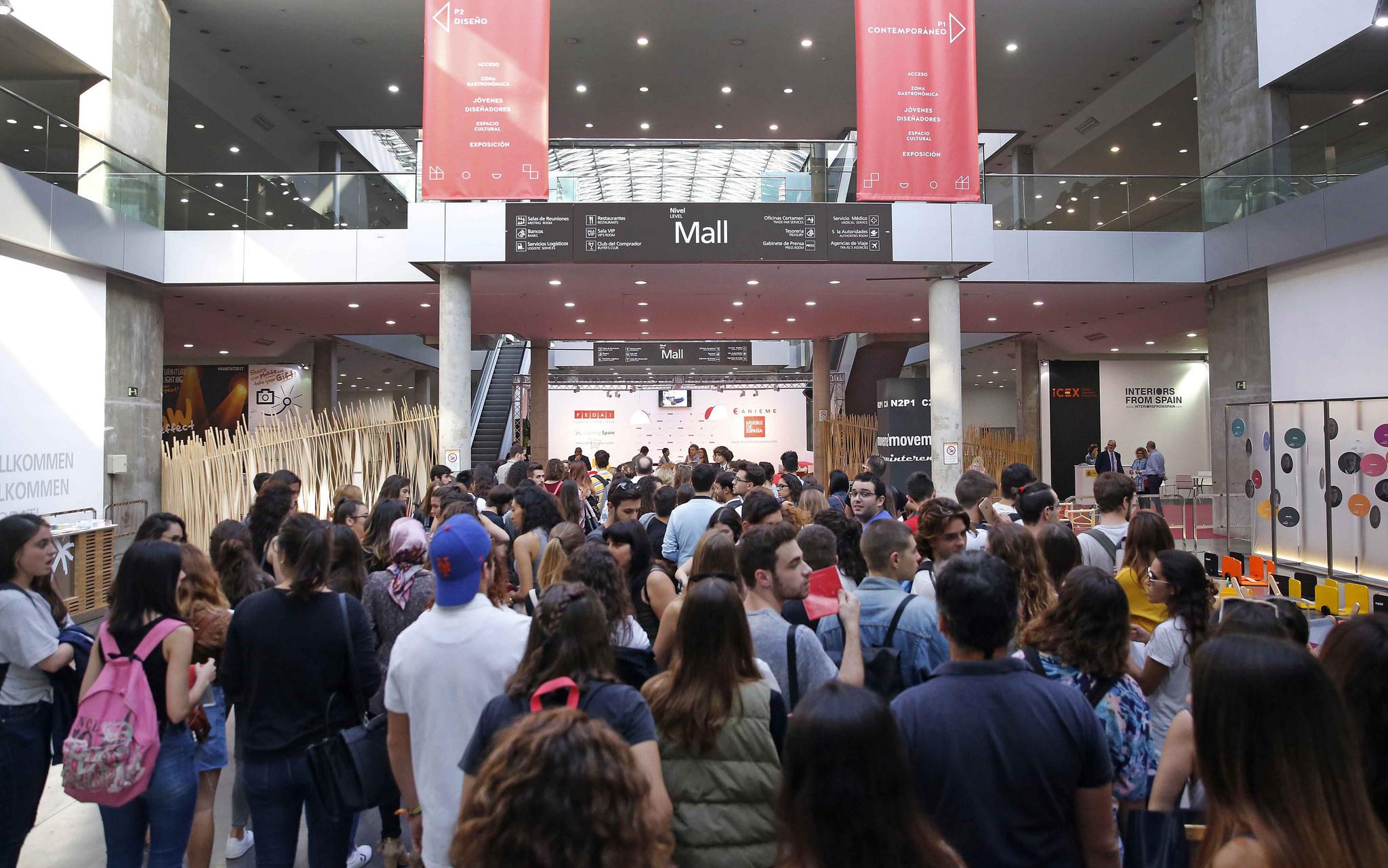 Hábitat 2017. La Feria Internacional del Mueble ha vuelto.
