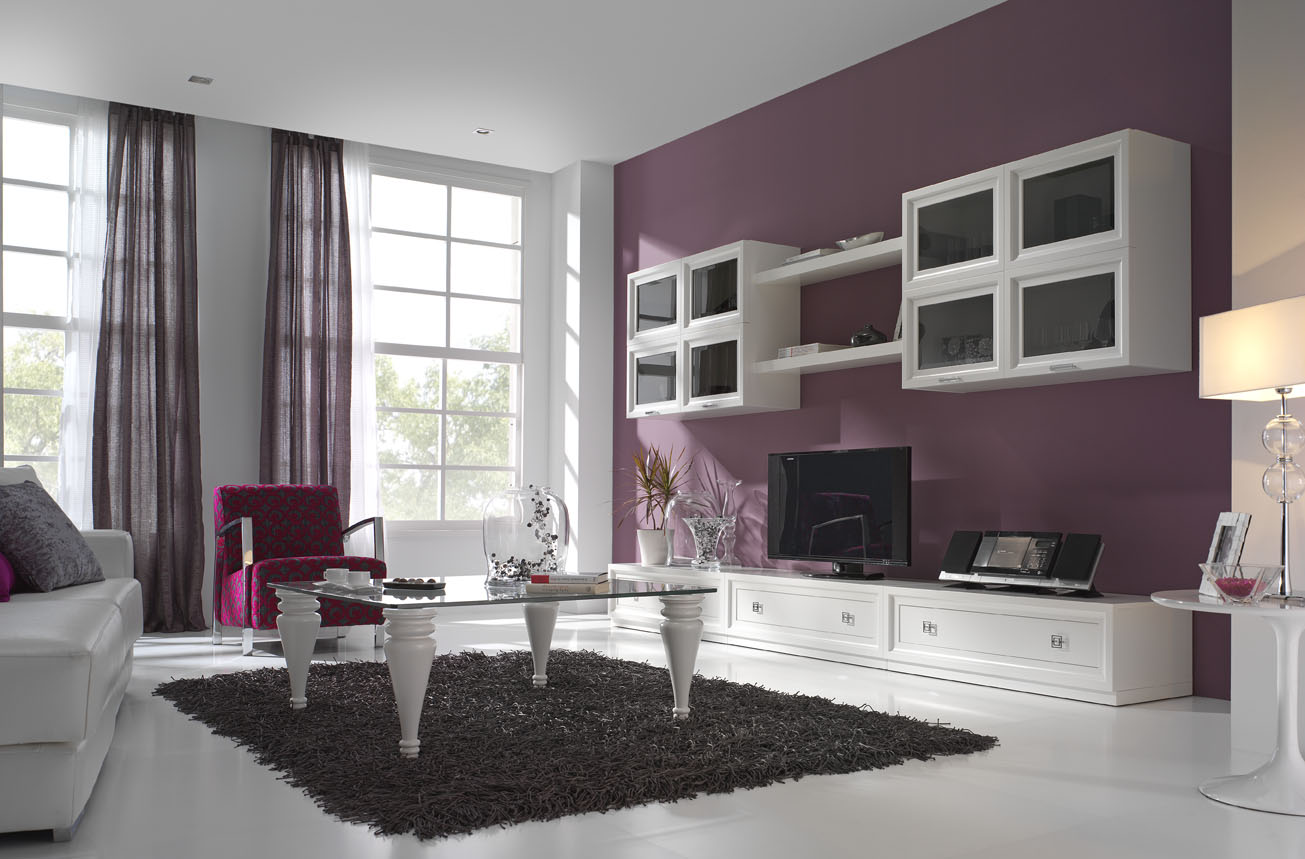 El mueble de televisi n consejos para comprar muebles de for Muebles modernos para living