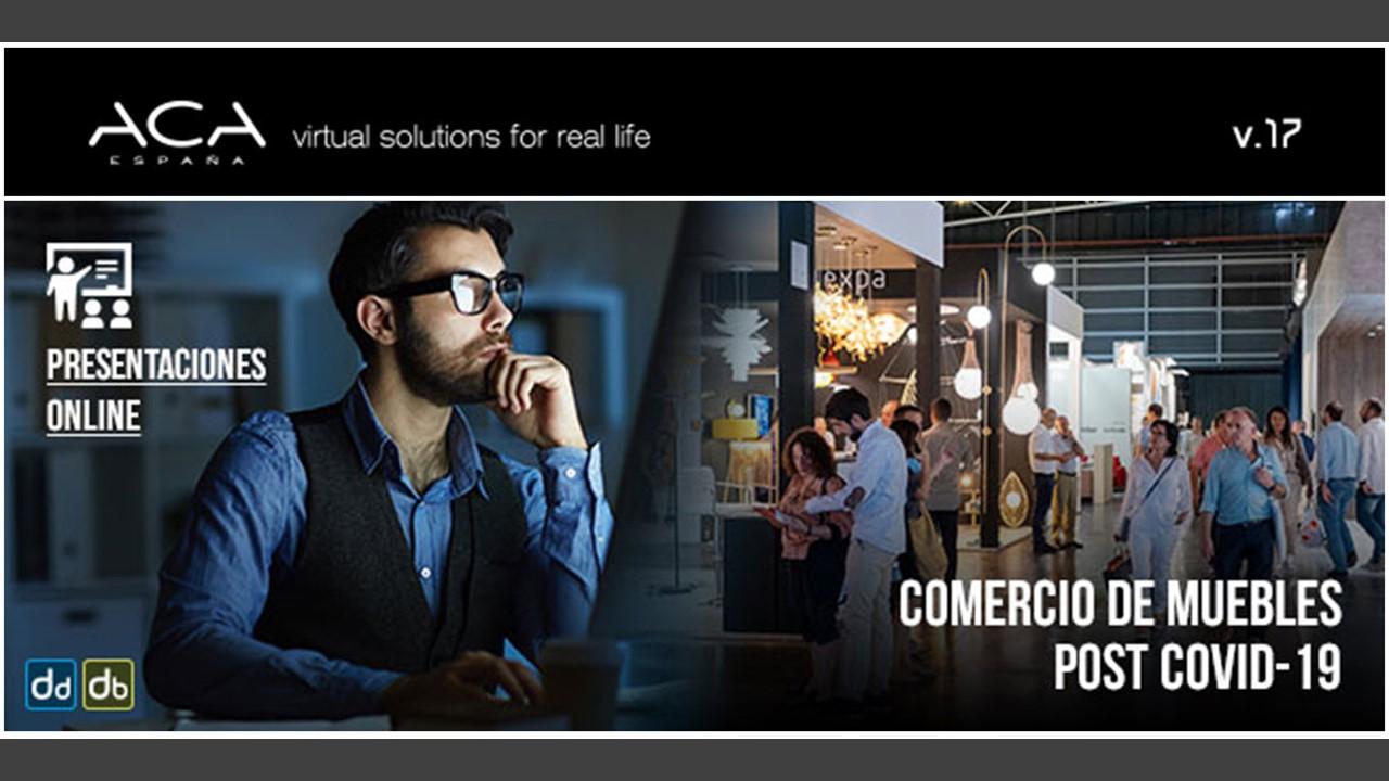 Comercio de Muebles POST COVID. ACA ESPAÑA & MUEBLIPEDIA.