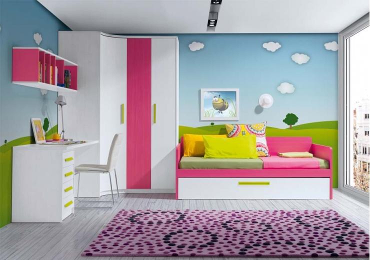 Habitaciones Juveniles Decoracion Paredes ~   PARA COMPRAR MUEBLES JUVENILES E INFANTILES  Blog Mueblipedia com
